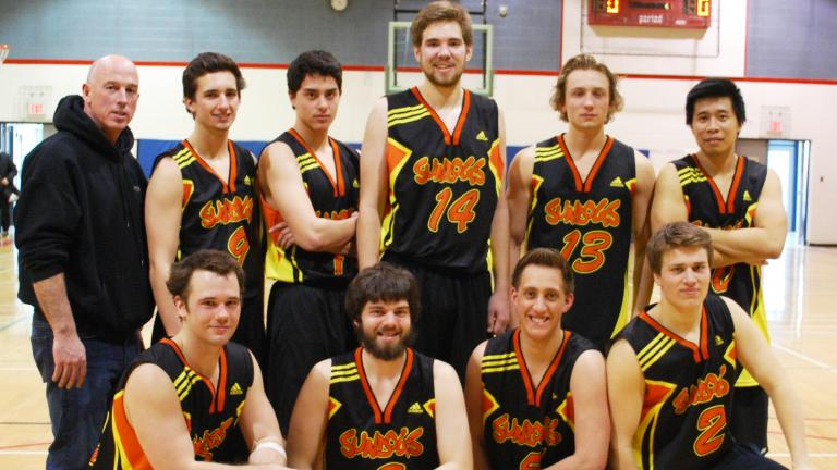 SunDogs Men's Basketball Team